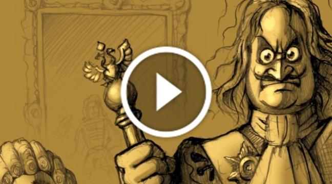 Аудіо-комікс про Івана Мазепу від Юрія Журавля (частина 3)