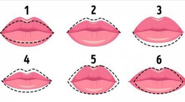 Що ваші губи можуть розповісти про ваш характер. Швидкий тест