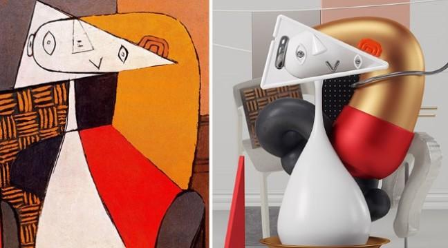 7 картин Пабло Пікассо перетворили у 3D-скульптури