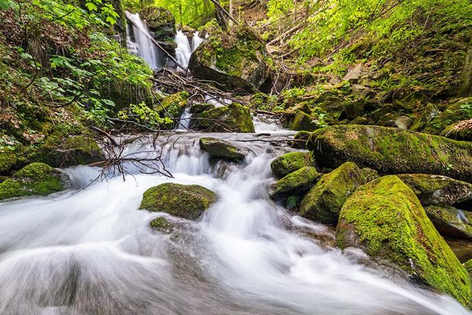 Водоспад Воєводин, Тур'я Поляна, Закарпатська область