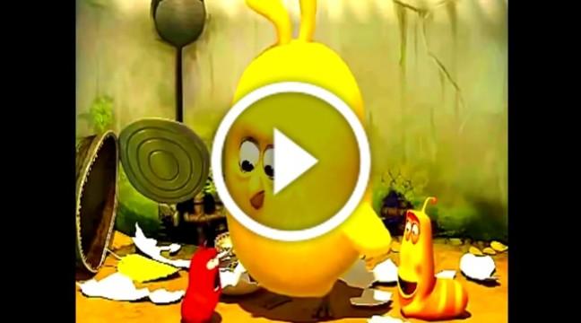 Жартівливий мультик про черв'яка, який вирішив виховувати курча