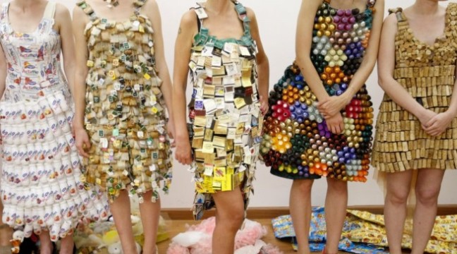 У Києві пройшов показ еко-одягу, зробленого з уживаних речей