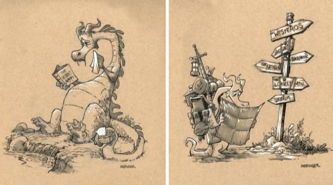 10 милих картинок, які ламають стереотипи про драконів