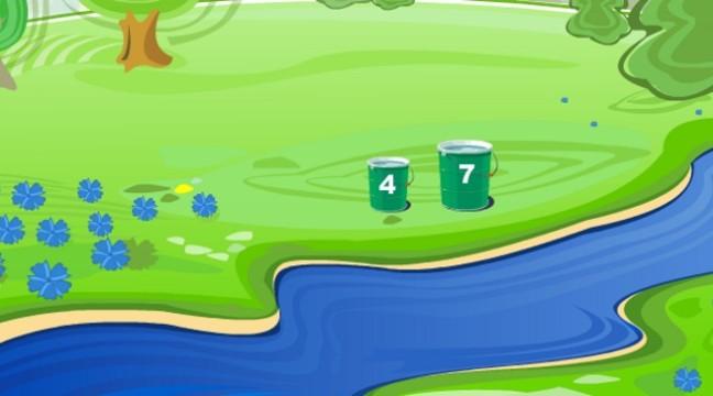 Головоломка: набери 6 літрів води