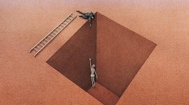 Притча про поради і фальшиву допомогу
