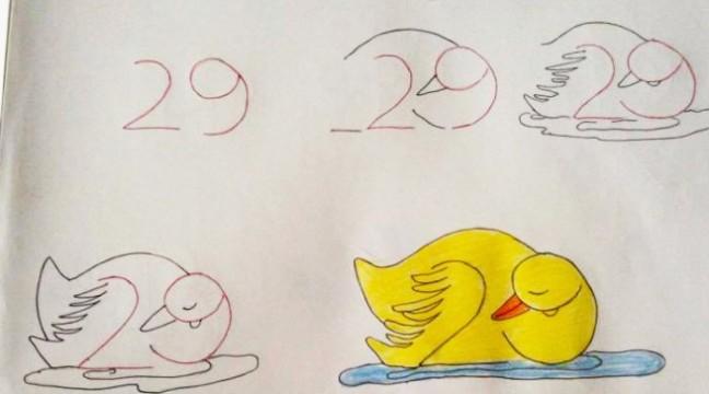 Вчимося малювати з допомогою цифр. Молодим батькам на замітку