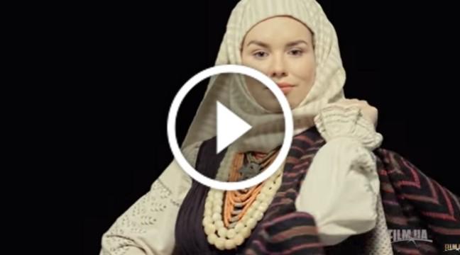 Чудове відео про давнє святкове вбрання Одеської області