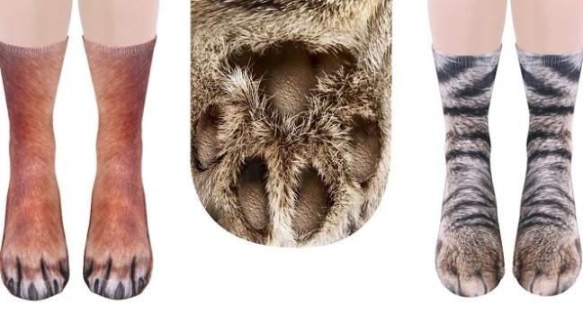 У цих шкарпетках ваші ноги виглядатимуть як лапи тварин