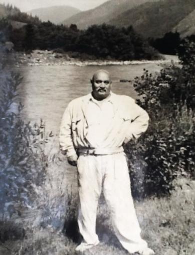 Іван Фіцак у рідному Закарпатті