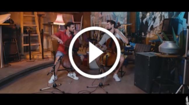 """Новинка від 2CELLOS. Хлопці зіграли відомий хіт """"Despacito"""" на віолончелях"""