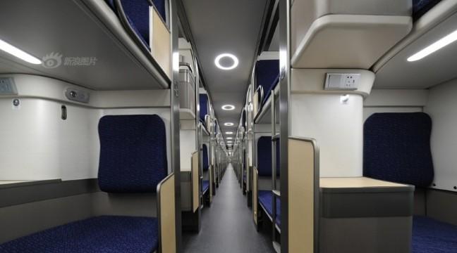 Ось якими повинні бути вагони плацкарт. Сучасні потяги у Китаї