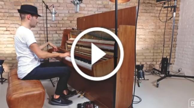 """Крутий фортепіанний кавер на найвідомішу пісню у світі – """"Despacito"""""""