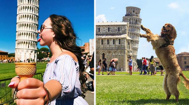 10 оригінальних способів сфотографуватися з Пізанською вежею