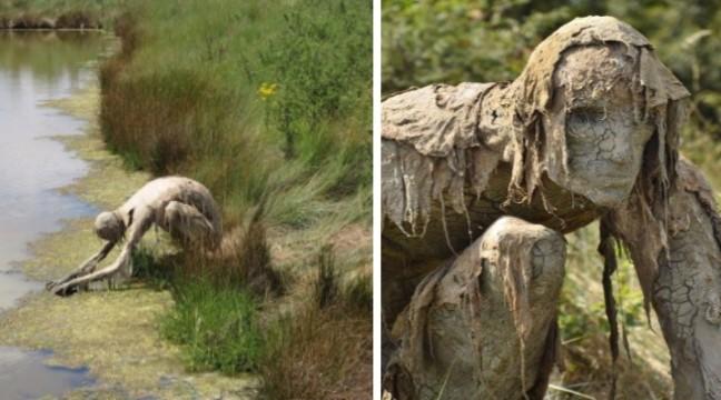 Не для лякливих: моторошні скульптури від француженки Софі Престіджакомо